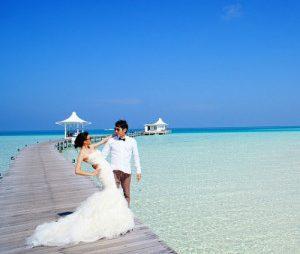 Nunta pe plaja in Maldive