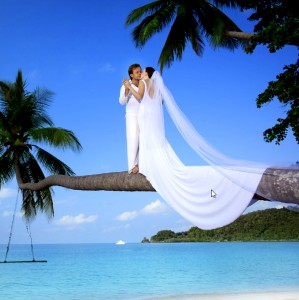 Seychelles, casatorie pe malul marii