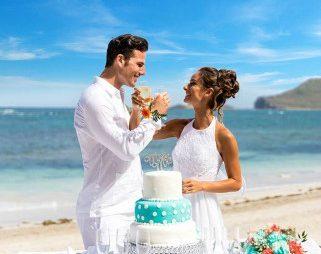 Nunta pe plaja in Caraibe – St. Lucia